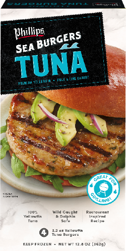 Yellowfin Tuna Burger